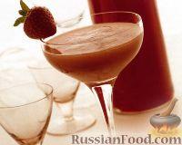 Фото к рецепту: Коктейль Замороженный Клубничный Дайкири (Frozen Strawberry Daiquiri)