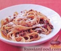Фото к рецепту: Макароны с мясным итальянским соусом