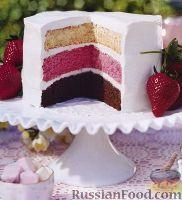 Фото к рецепту: Торт «Радуга»