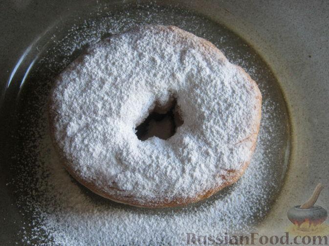 Рецепт Пончики сдобные жареные