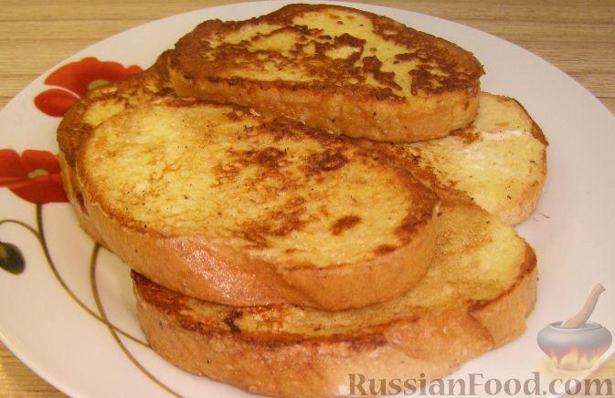 Рецепт Закусочные гренки к завтраку