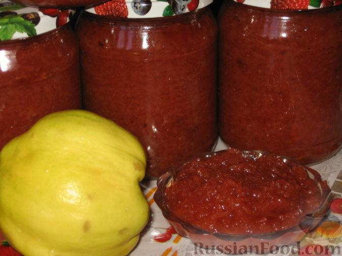 Фото приготовления рецепта: Заготовки из айвы - шаг №10
