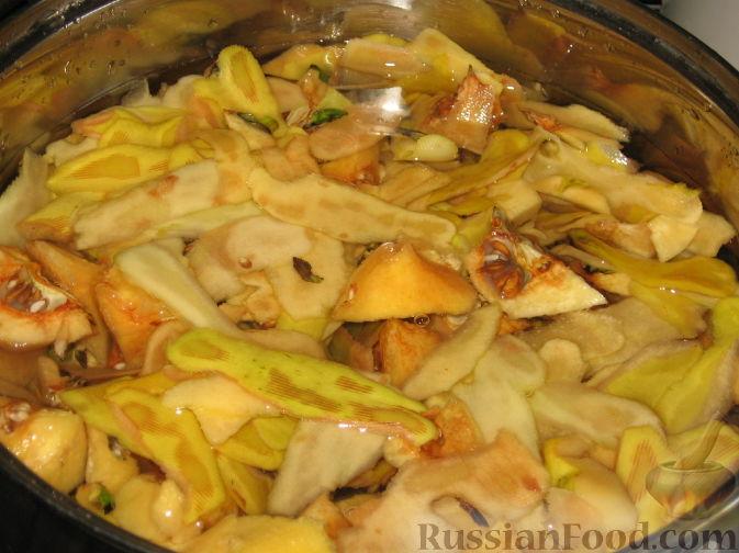 Фото приготовления рецепта: Заготовки из айвы - шаг №6