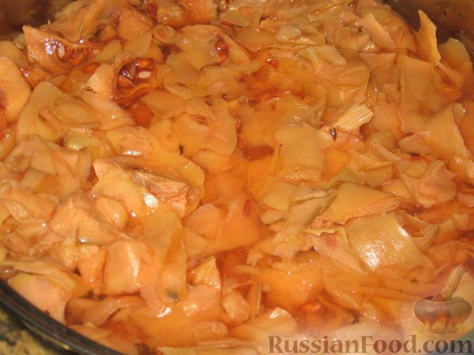 Фото приготовления рецепта: Заготовки из айвы - шаг №12