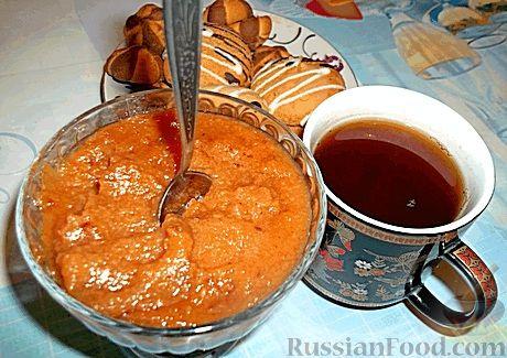 Рецепт Яблочно-грушевое повидло