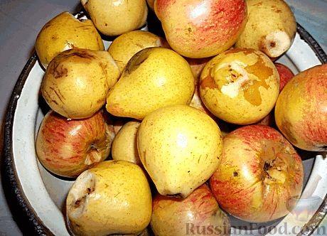 Фото приготовления рецепта: Яблочно-грушевое повидло - шаг №2