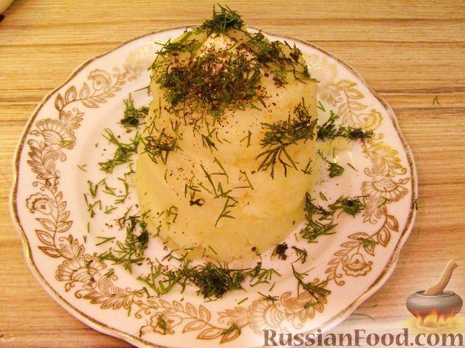 Рецепт Картофельное пюре с желтком