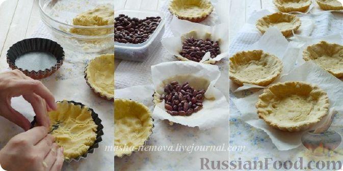 Фото приготовления рецепта: Тарталетки с лимонным курдом и голубикой - шаг №5