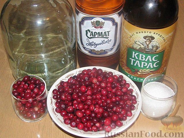 Фото приготовления рецепта: Клюквенная настойка - шаг №7