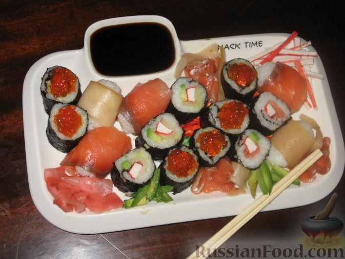 Рецепт Сашими, суши и роллы
