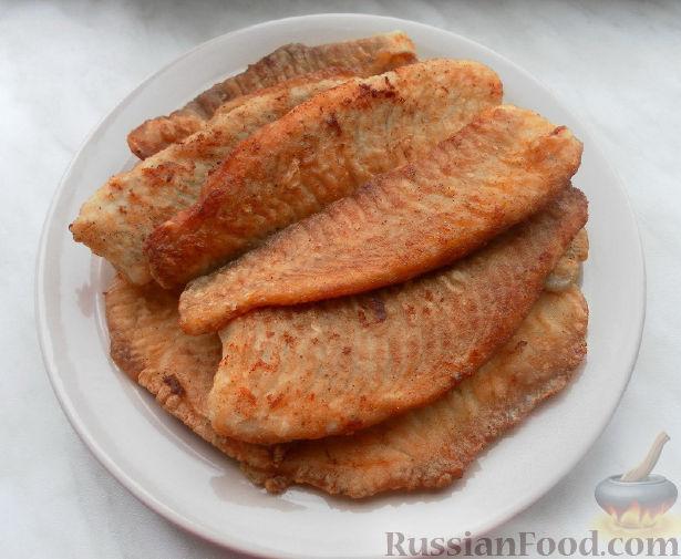 Рецепт Жареная тилапия