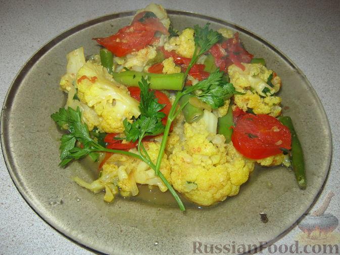 Рецепт Овощное карри с цветной капустой