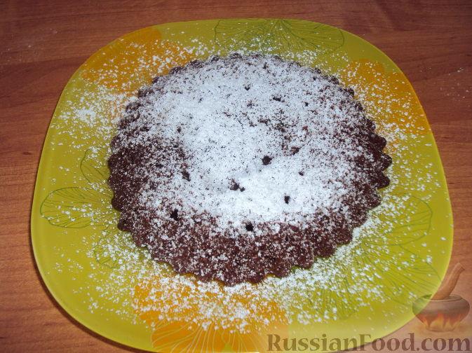 Рецепт Шоколадный фондан