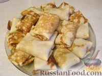 Фото к рецепту: Налистники с печенью