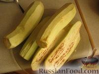 Фото приготовления рецепта: Жареные баклажаны - шаг №2