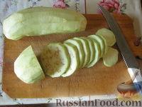 Фото приготовления рецепта: Жареные баклажаны - шаг №3