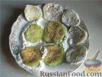 Фото приготовления рецепта: Жареные баклажаны - шаг №5