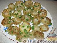 Фото приготовления рецепта: Жареные баклажаны - шаг №8
