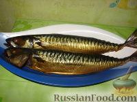 """Фото к рецепту: Скумбрия домашнего """"копчения"""""""