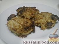 Фото к рецепту: Деруны с грибами