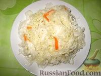 Фото к рецепту: Капуста квашеная