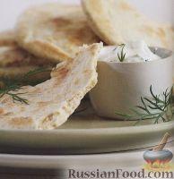 Фото к рецепту: Хрустящие пшеничные лепешки