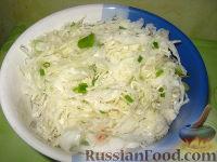 Фото к рецепту: Салат из квашеной капусты