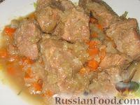 Фото приготовления рецепта: Мясо по-осеннему - шаг №3