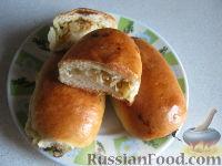 Фото к рецепту: Пирожки печеные с капустой
