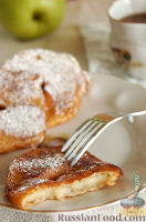 Фото к рецепту: Оладушки с яблоками