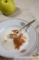 Фото приготовления рецепта: Оладушки с яблоками - шаг №6