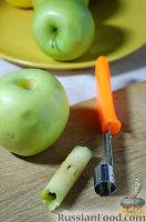 Фото приготовления рецепта: Оладушки с яблоками - шаг №8