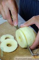Фото приготовления рецепта: Оладушки с яблоками - шаг №9