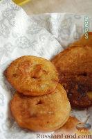 Фото приготовления рецепта: Оладушки с яблоками - шаг №14