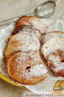 Фото приготовления рецепта: Оладушки с яблоками - шаг №15