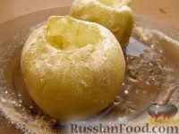 Фото к рецепту: Яблоки, запеченные в микроволновке