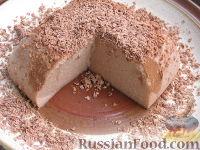 Фото приготовления рецепта: Шоколадный пудинг из манки - шаг №4