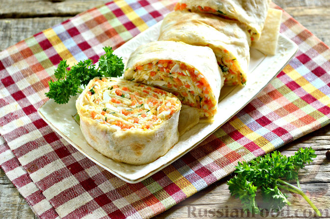 Сладкие пирожки из лаваша рецепты с фото