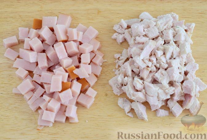 Фото приготовления рецепта: Дрожжевые рогалики с айвой - шаг №5