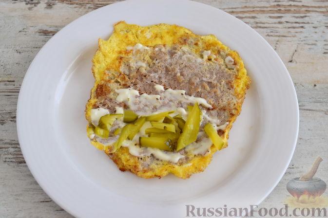 Фото приготовления рецепта: Отрывной яблочный пирог - шаг №13