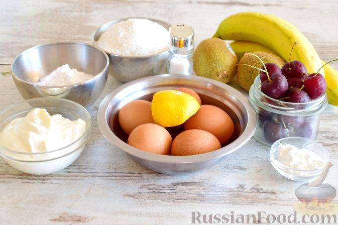 Фото приготовления рецепта: Кокосовый торт для мамы (без муки) - шаг №1