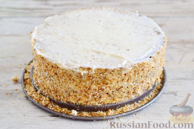 Фото приготовления рецепта: Кокосовый торт для мамы (без муки) - шаг №16