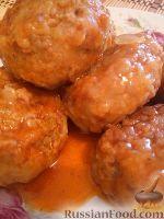 Фото к рецепту: Гречаники в томатном соусе