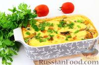 Фото к рецепту: Запеканка из баклажанов с сыром
