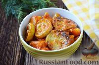 Фото к рецепту: Овощное рагу в томатном соусе