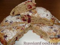 Фото к рецепту: Быстрый пирог к завтраку