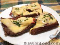 Фото к рецепту: Горячие бутерброды (в бутерброднице)