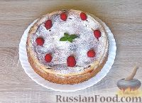 receta de archivo: Requesón y pastel de frambuesa - el paso número 7