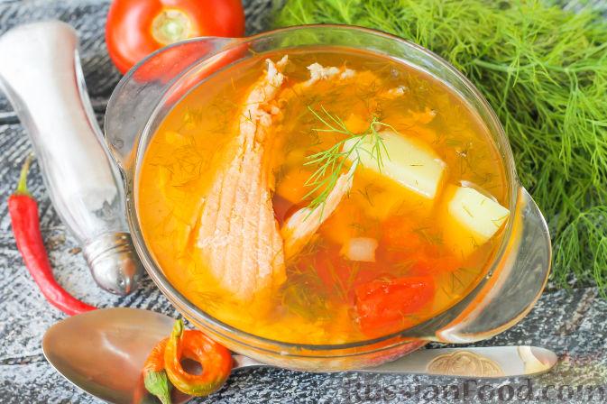 Суп из хребта форели рецепт