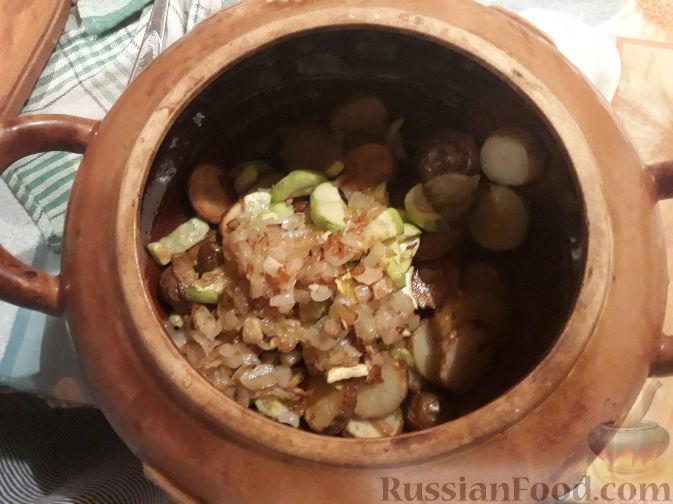 Фото приготовления рецепта: Запеканка из пекинской капусты с сыром - шаг №6